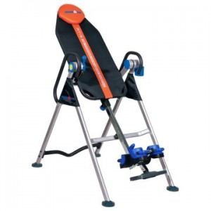 Ironman Locking Sit Up Inversion Table - Orange