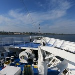 Ocean Princess Balcony and the Kiel Canal
