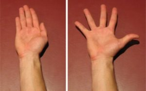 Finger Adduction to Abduction